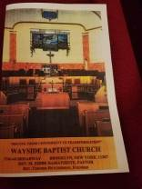 Wayside Baptist Church Sept. 23, 2018