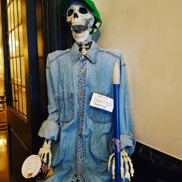 Skeleton Doorman